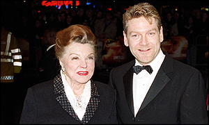 Kenneth Branagh and Esther Williams