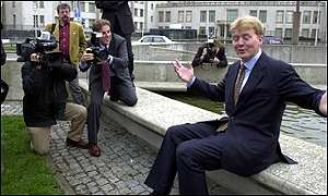 Dutch Crown Prince Willem Alexander appealed for calm