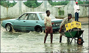 Floods in Maputo