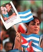Demonstration in Havana