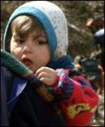 child in kosovo