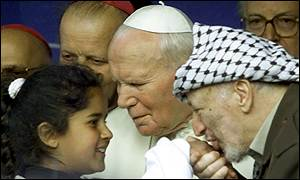 Arafat and the Pope