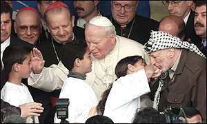 Pope and Arafat