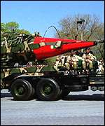 The Ghauri I missile will be on display