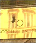 Scottish Ballet sign