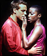 Adam Pascal and Heather Headley