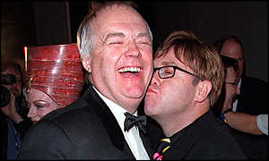 Sir Tim Rice and Sir Elton John