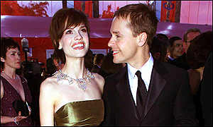 Hilary Swank and Chad Lowe