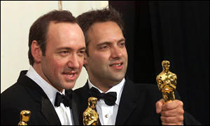 Kevin Spacey and Sam Mendes