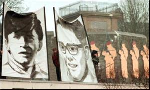 Murals in the Bogside area of Londonderry