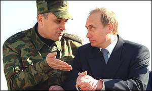 Putin: how close is he to Russia's hawkish generals?