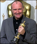 Phil Collins at the 2000 Oscars