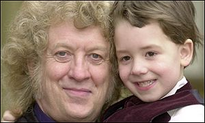 Noddy Holder with son Django