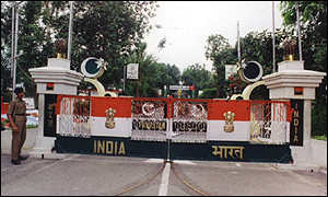 Wagah border crossing