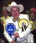 Alan Hope, head of the Monster Raving Loonyt Party