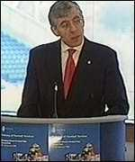 [ image: Home Secretary Jack Straw is working with the French]