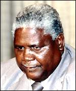Independence leader Joshua Nkomo