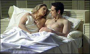Kathleen Turner and Matthew Rhys
