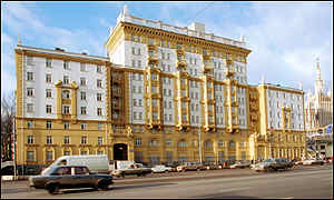Image result for u.s. embassy moscow