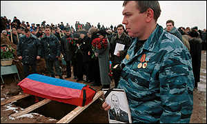 Omon funeral north of Perm