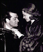 Lord Olivier and Vivien Leigh