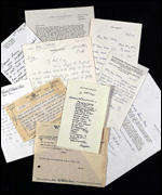 Lord Olivier's letters