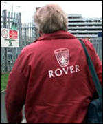A Rover worker