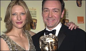 Kevin Spavey and Cate Blanchett