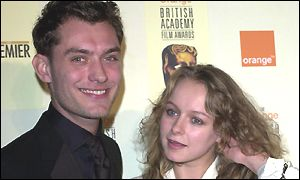 Jude Law with Samantha Morton