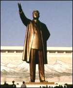 Statue of Kim il-Sung
