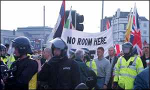 National Front demo