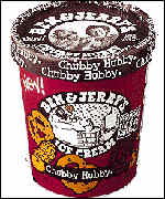 Ben & Jerry's tub