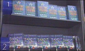 Bandit Country selling in a Dublin bookshop
