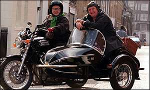 Fat Ladies and bike