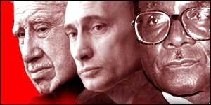 Pinochet, Putin and Mugabe