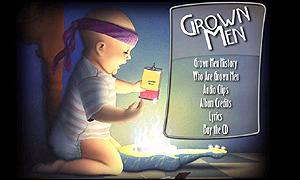 Grown Men homepage