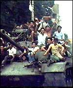 Tank in Saigon