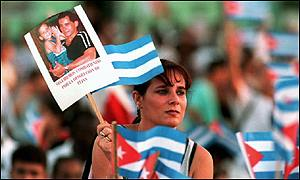 Demonstration in Cuba