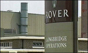 Many of the job losses will be at Longbridge