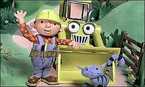 Bob the Builder and friends