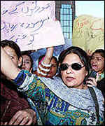 Women activists in Pakistan