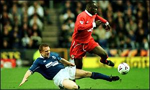Emile Heskey and Mark Pembridge