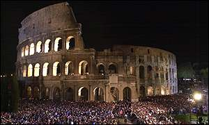 The Colosseum: where early Christians were martryred