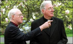 Archbishop Carey and the Most Rev Cormac Murphy-O'Connor