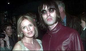 Patsy Kensit with husband Liam Gallagher