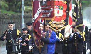 Apprentice Boys'  Ormeau march is opposed by nationalists