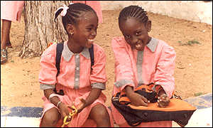 School pupils in Senegal