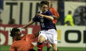 Neil McCann and Edgar Davids