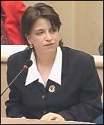 Wendy Alexander in parliament