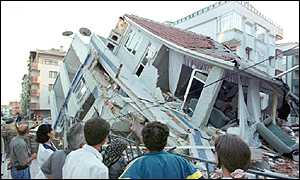 Istanbul suffered in 1999